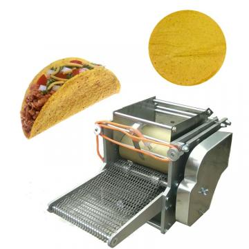 Tortilla/Nacho/Doritos Chips Snacks Making Machine /Roti Chapatifrain Food Preee Machine