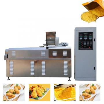 Frying Bread Crumbs Snack Food Production Machine Line