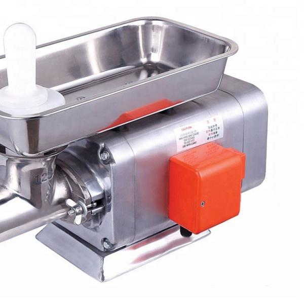 Mini Domestic Stainless Steel Industrial Commercial Kitchen Electric Sausage Stuffer Frozen Meat Electric Fresh Meat Grinder